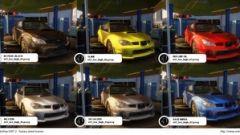 Subaru color pack