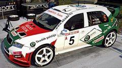 Turi -Tóth Skoda Fabia WRC