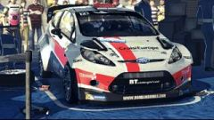 Romain Dumas FORD Fiesta RS WRC