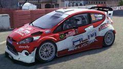 Ford Fiesta WRC Evgeny Novikov