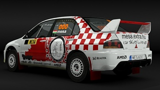 Mesa's artworks rally car design sample