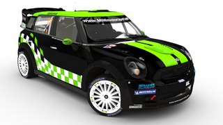 MINI WRC Atkinson 3D renders