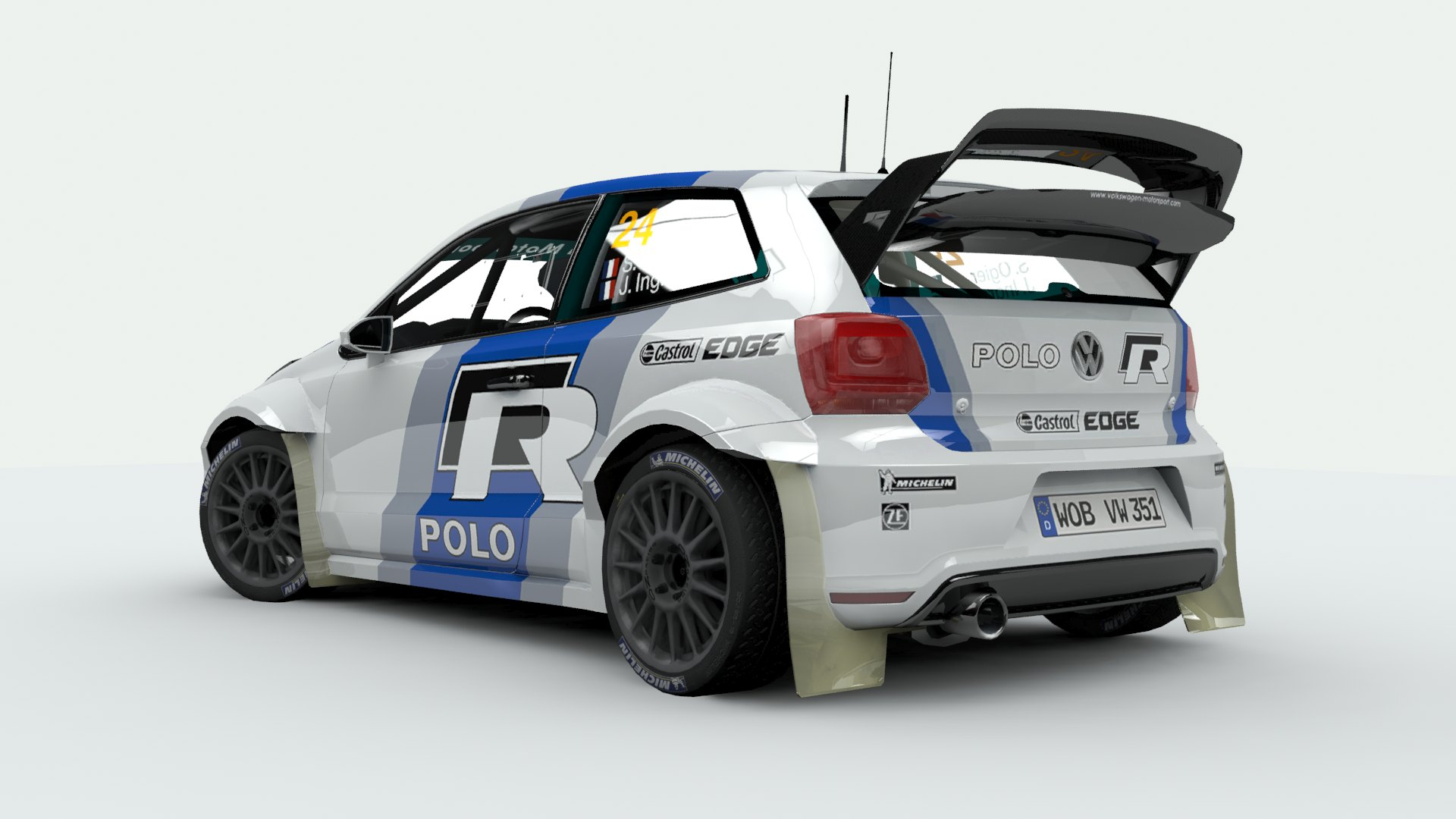 volkswagen polo wrc mesa 39 s artworks. Black Bedroom Furniture Sets. Home Design Ideas