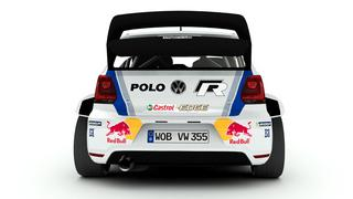 VW Polo R WRC 2013 3D renders