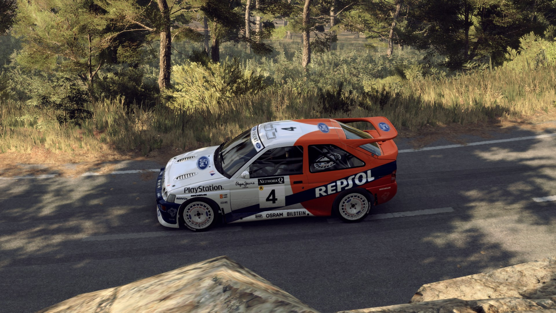 Sainz Repsol Escort Cosworth