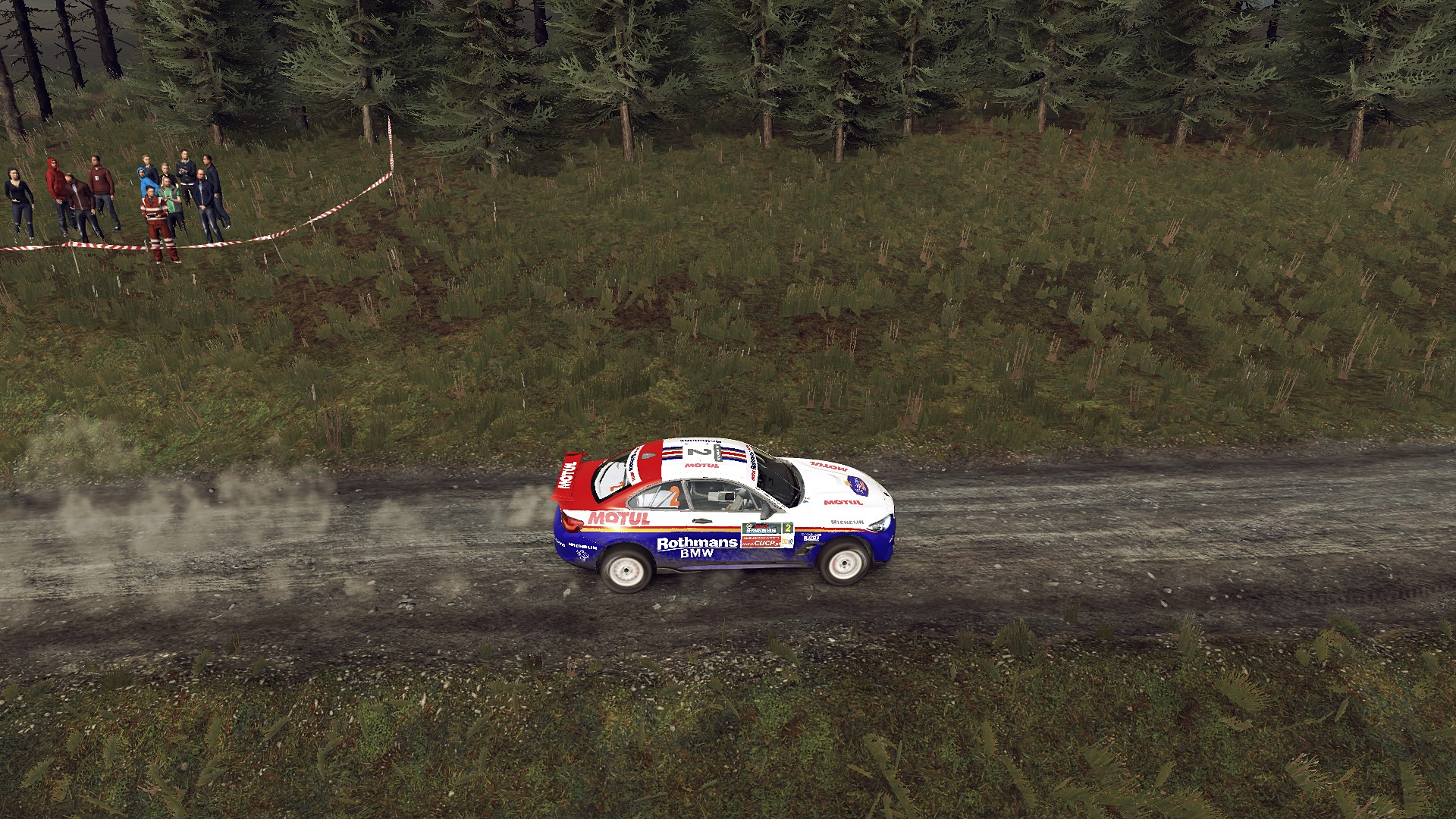 BMW M2 Competition livery for Dirt Rally 2.0