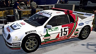Ford RS200 Diabolique livery for Dirt Rally 2.0