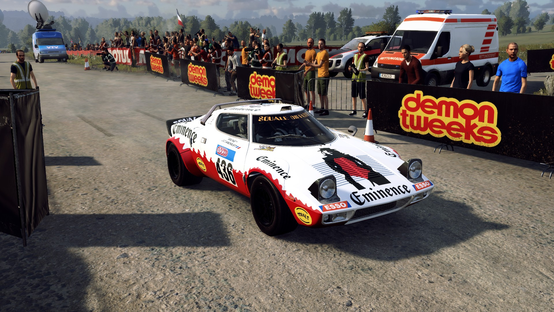 Lancia Stratos Eminence livery for Dirt Rally 2.0