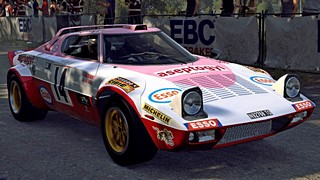 Lancia Stratos Aseptogyl livery for Dirt Rally 2.0
