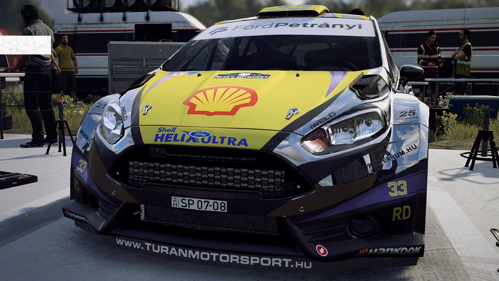 Fiesta R5 CHROME