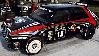 Black Martini Lancia Delta Integrale