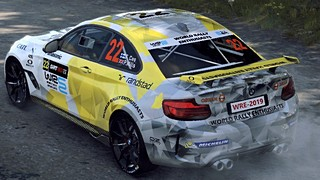 BMW M2 WRE livery for Dirt Rally 2.0