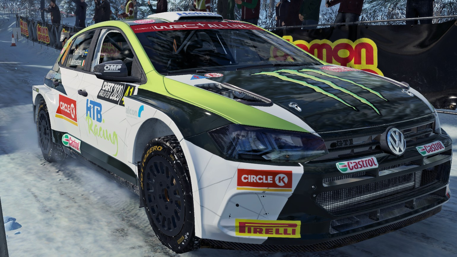 Oliver Solberg Polo R5 skin for Dirt Rally 2.0