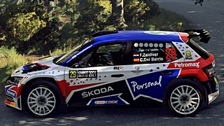 Fau Zaldivar Skoda Dirt Rally 2.0