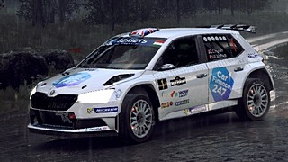 Chris Ingram Skoda Fabia R5