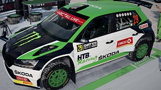 Oliver Solberg Fabia R5 livery for Dirt Rally 2.0