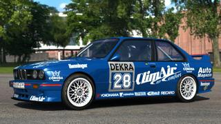 BMW E30 DTM skin for Assetto Corsa