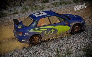 Solberg Subaru skin for DiRT 2