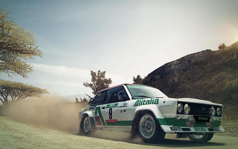 FIat 131 Abarth skin for DiRT 3