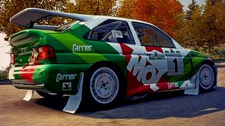 Ford Escort MOL skin for DiRT 3