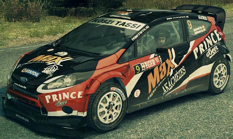 Ford Fiesta Kakuszi skin for DiRT 3