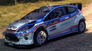 Ford Fiesta Turán skin for DiRT 3
