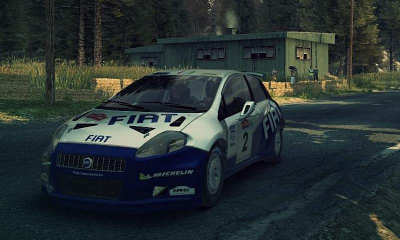 FIat Grande Punto Abarth skin for DiRT 3