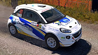 Machado Opel skin for Dirt Rally