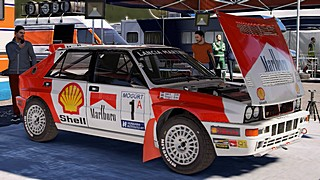 Lancia Integrale Marlboro skin for Dirt Rally