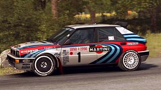 Lancia Delta HF Integrale 16v Martini skin for Dirt Rally