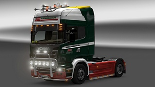 Hungarocamion ski for ETS 2
