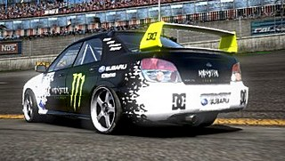 Ken Block livery/skin mod download