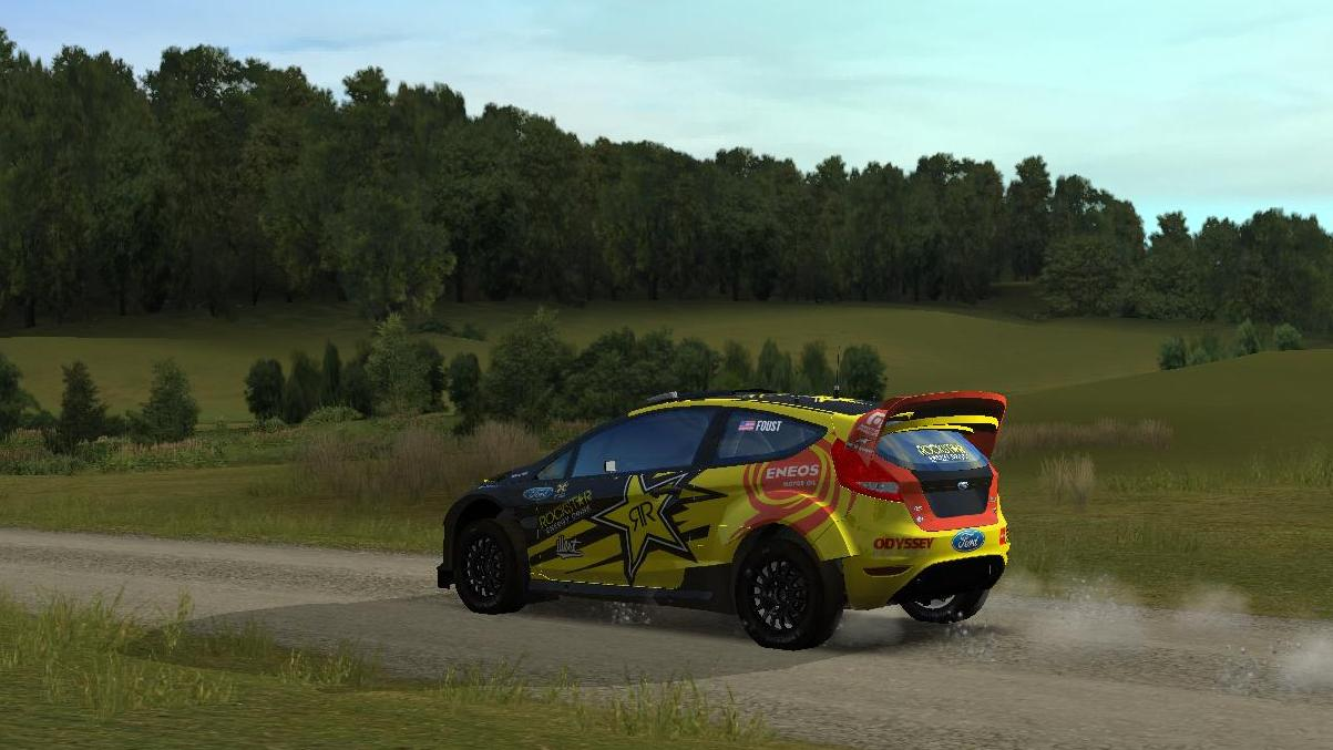 Ford Fiesta livery/skin mod download