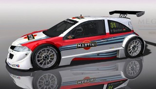 Blade Martini Racing Megane for Rfactor
