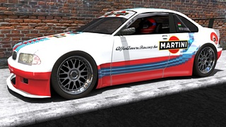 Blade Martini Racing BMW M5 GT3 for Rfactor