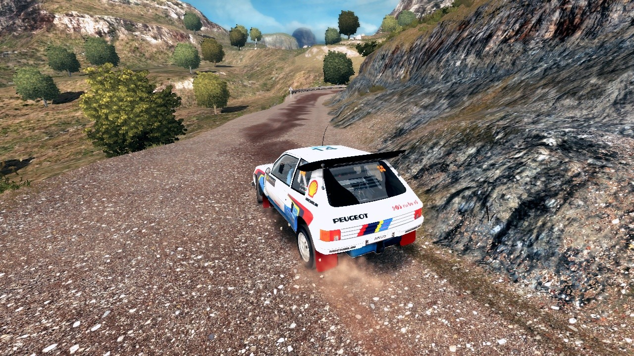 Peugeot 205 livery/skin mod download