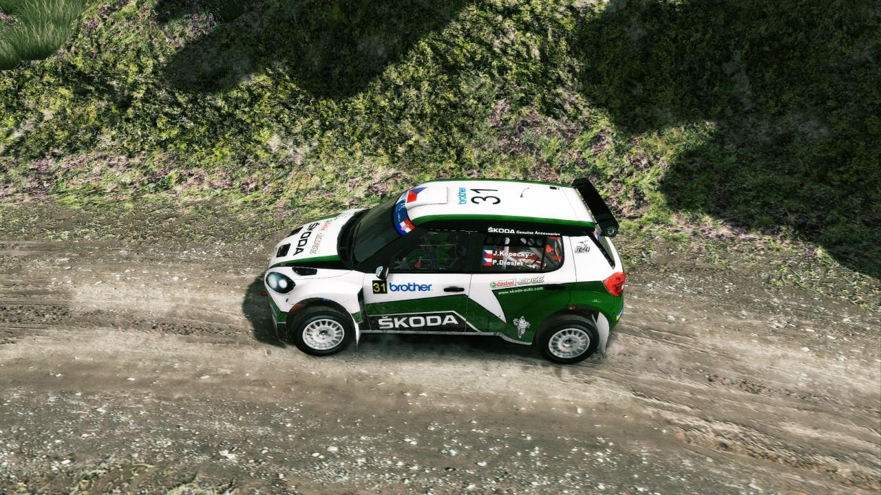 Skoda Fabia livery/skin mod download