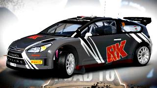 Citroen C4 WRC livery/skin mod download