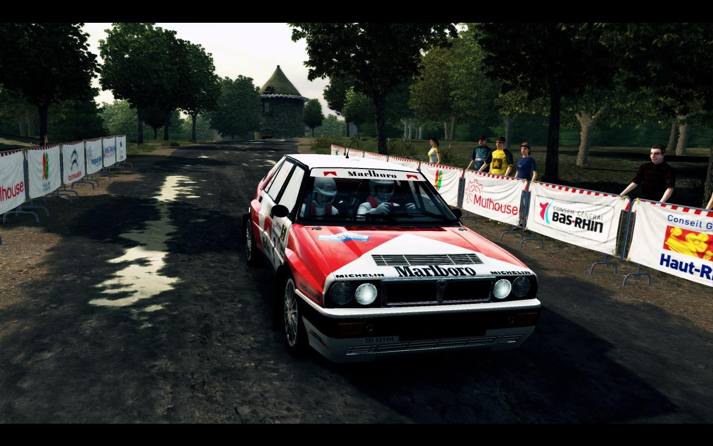 Lancia Delta HF Integrale livery/skin mod download