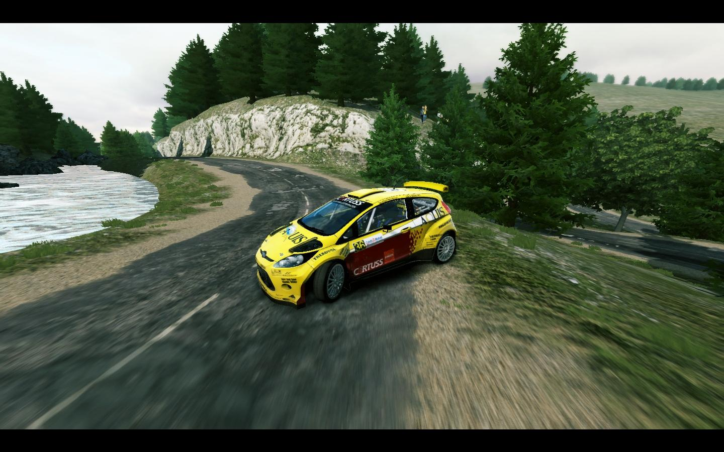 Fiesta S2000 livery/skin mod download