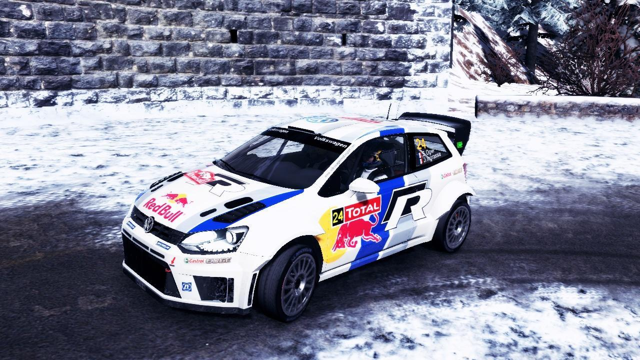 Volkswagen Polo WRC livery/skin mod download