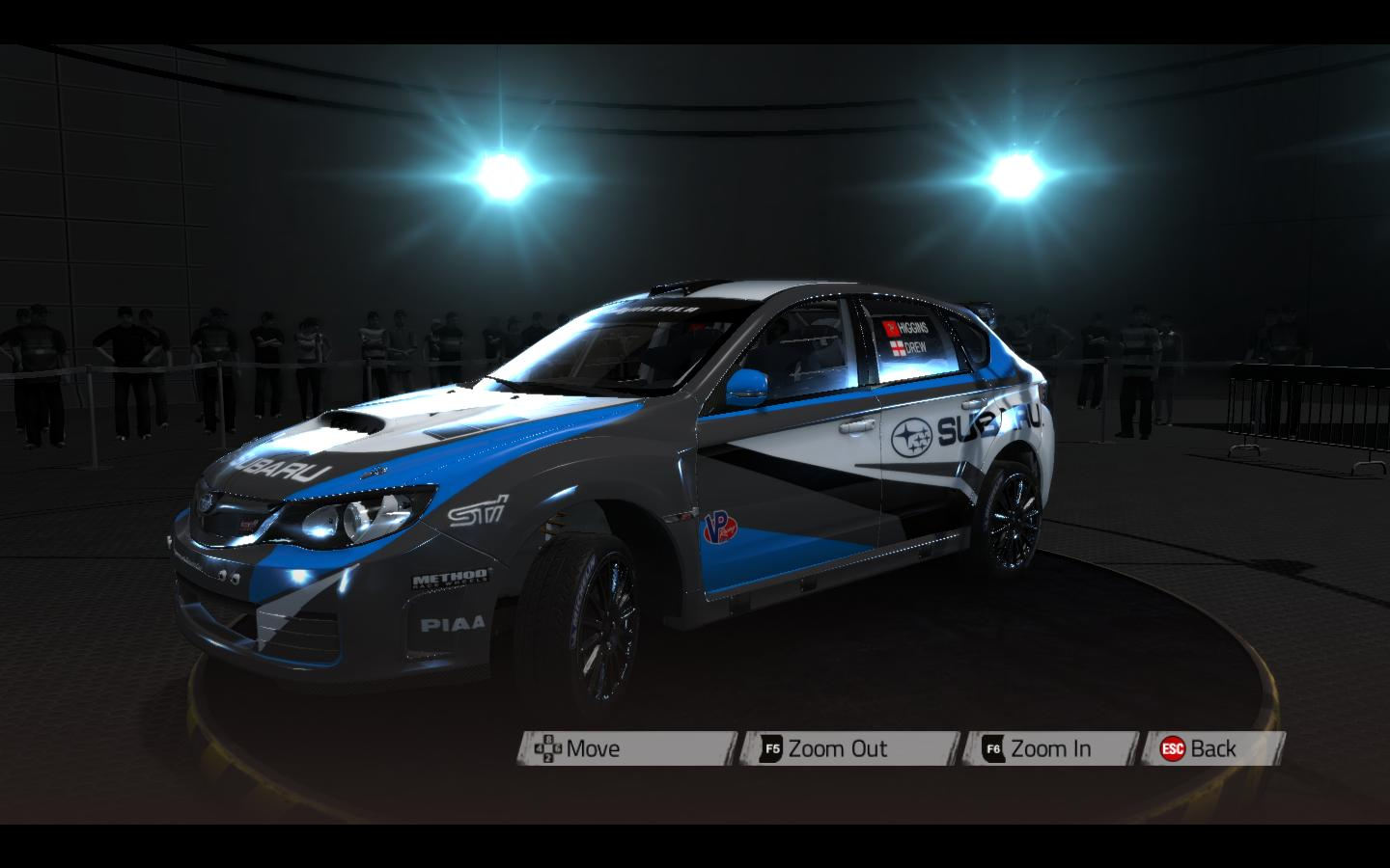 Subaru WRX STi livery/skin mod download