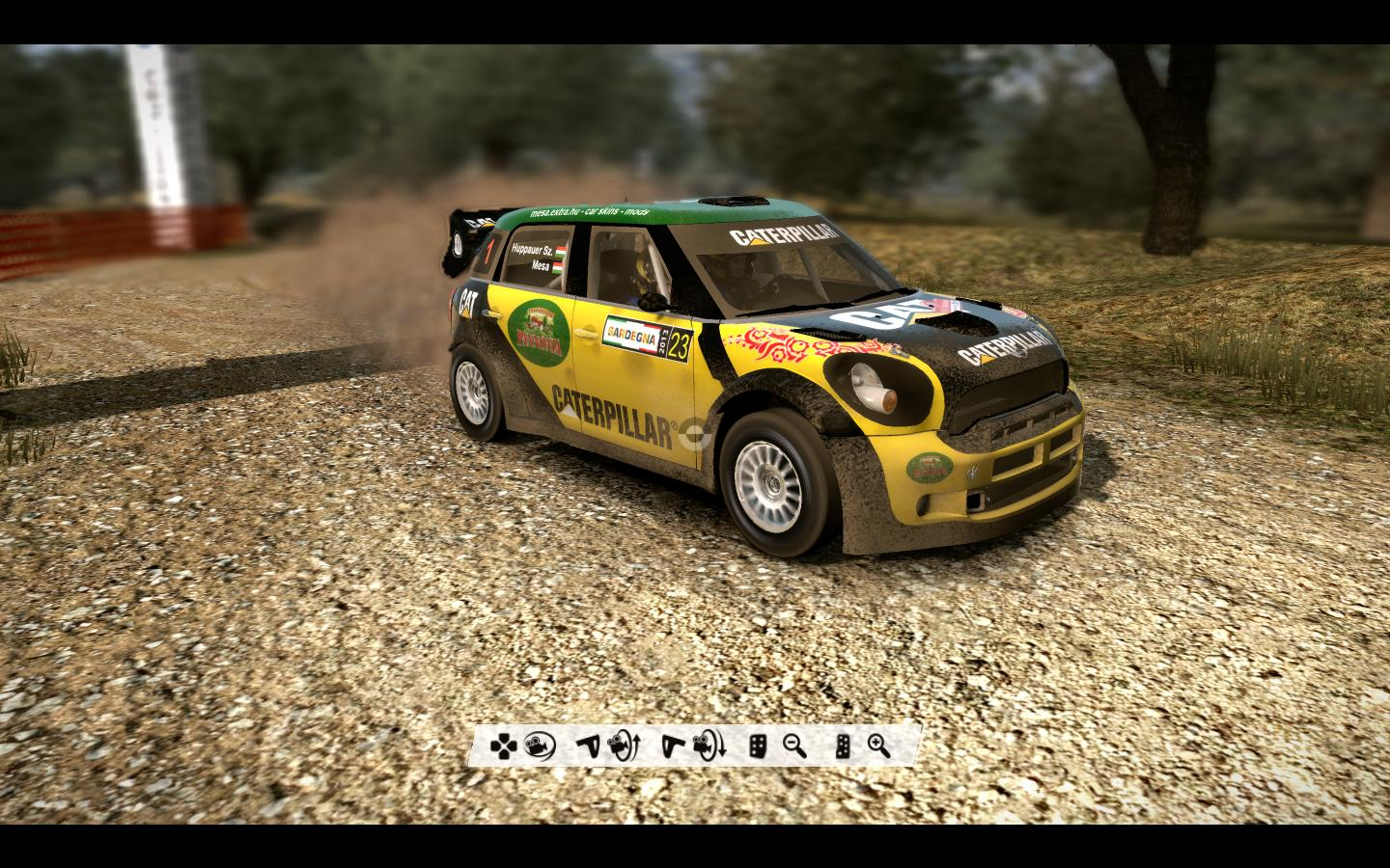 Mini JCW WRC livery/skin mod download