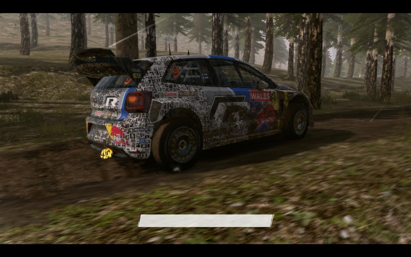 VW Polo R WRC fan photos skin